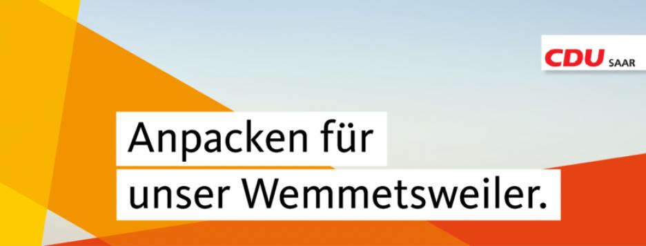 CDU Wemmetsweiler